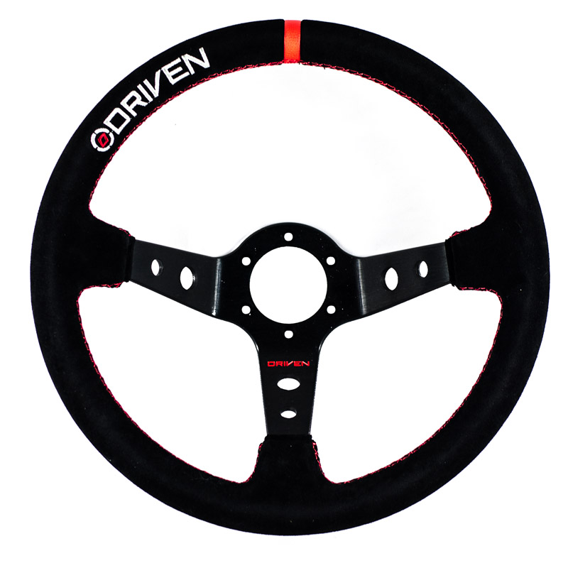 "13.5"" Deep Dish Steering Wheel -  Mada RX7"