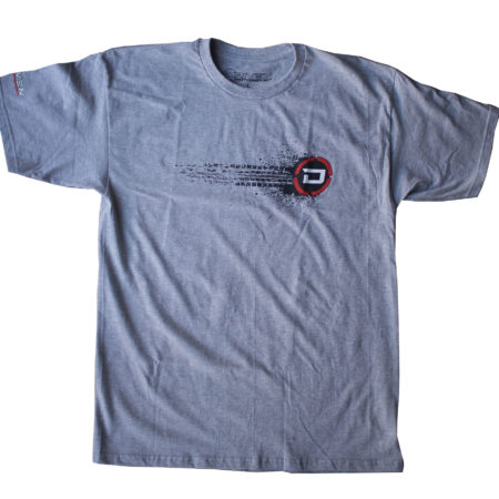 Driven Motorsport Burnout Tee - Gray